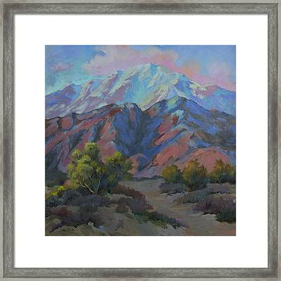 Spring In The Mountains Framed Print by Diane McClary