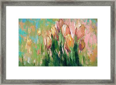Spring In Unison Framed Print