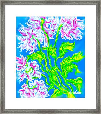 Spring In View Framed Print