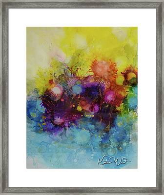 Spring Into Summer Framed Print