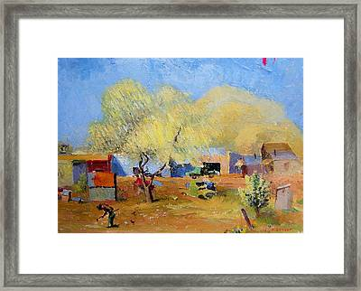 Spring Is For Everyone Framed Print by Willoughby Senior