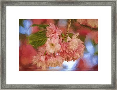 Spring Is In The Air Framed Print by Geraldine Scull