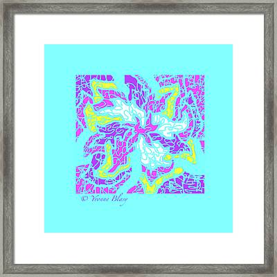 Spring Is Pastelling Framed Print