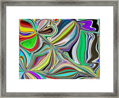 Spring Kaleidoscope Framed Print by Tim Allen