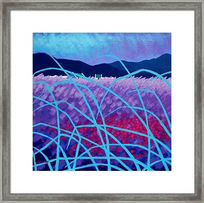 Spring Landscape Framed Print by John  Nolan