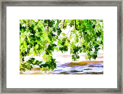 Spring Framed Print by Lanjee Chee