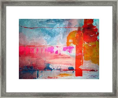 Spring Light North Wind Framed Print