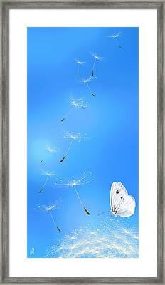 Spring Lightness Framed Print by Veronica Minozzi