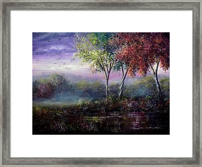 Spring Magic Framed Print by Ann Marie Bone