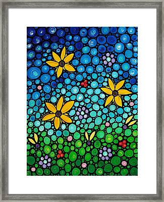 Spring Maidens Framed Print by Sharon Cummings