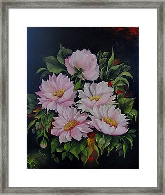 Spring Messangers Framed Print by Katia Aho