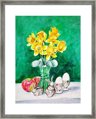 Spring Mix Framed Print