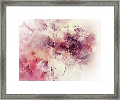Spring Moods Abstract Framed Print