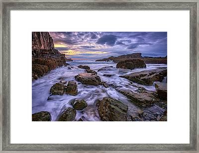 Spring Morn At Bald Head Cliff Framed Print