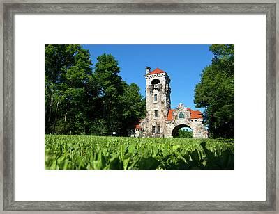 Spring Morning At Testimonial Gateway Framed Print