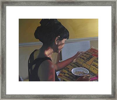 Spring Morning Cabot Arkansas Framed Print by Thu Nguyen