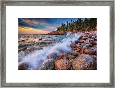 Spring Morning In Acadia National Park Framed Print by Rick Berk