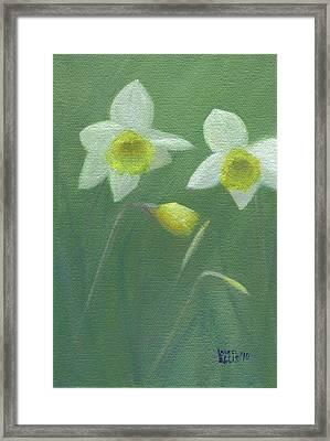 Spring Morning Framed Print by Laurel Ellis