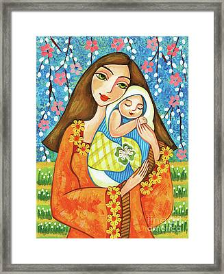 Spring Mother Framed Print