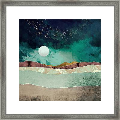 Spring Night Framed Print