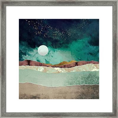 Spring Night Framed Print