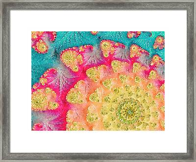 Framed Print featuring the digital art Spring On Parade by Bonnie Bruno