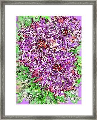 Spring On The Way Framed Print