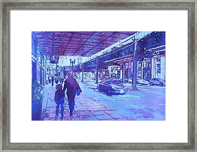 Spring Outing Framed Print by Jenny Armitage