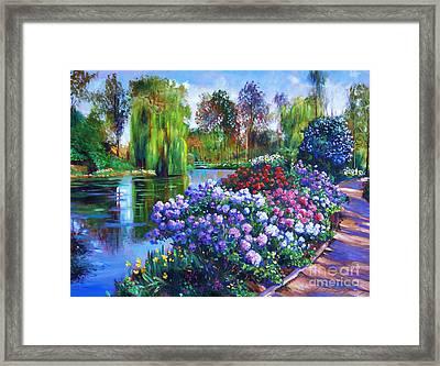Spring Park Framed Print
