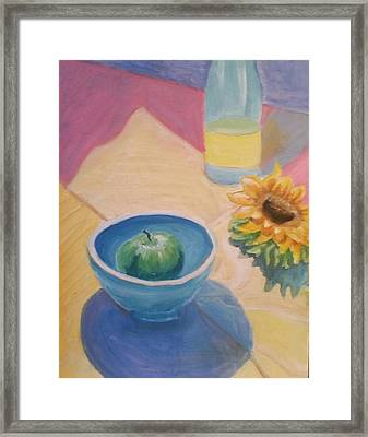 Framed Print featuring the painting Spring Picnic  by Carol Duarte