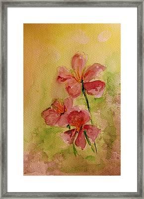 Spring Please Framed Print by Julie Lueders