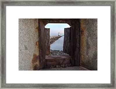 Spring Point Ledge Light House Framed Print