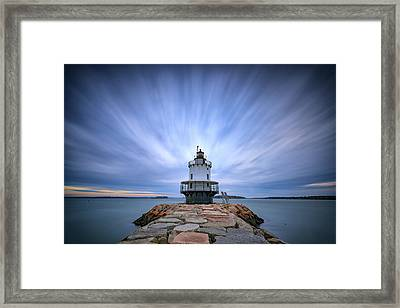 Spring Point Ledge Light Station Framed Print