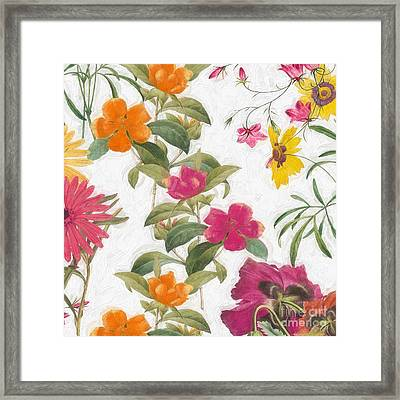 Spring Promise I Framed Print by Mindy Sommers