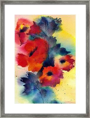 Spring Quartet Framed Print by Anne Duke