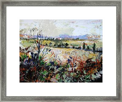Spring Rain Framed Print by Dale  Witherow