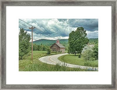 Framed Print featuring the digital art Spring Rain by John Selmer Sr