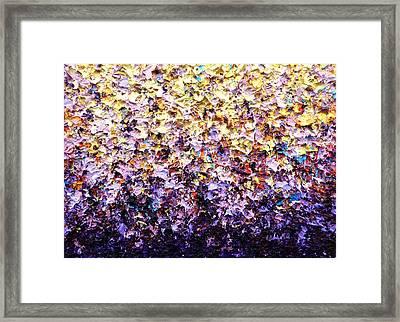 Spring Rains Framed Print
