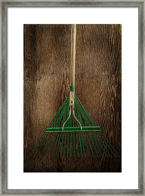 Tools On Wood 10 Framed Print by Yo Pedro