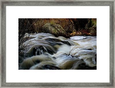 Spring Rapids Framed Print by Michael Osborne