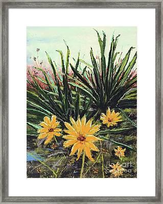 Spring Rising Framed Print by Vickie Scarlett-Fisher