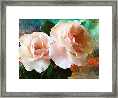 Framed Print featuring the photograph Spring Roses by Gabriella Weninger - David