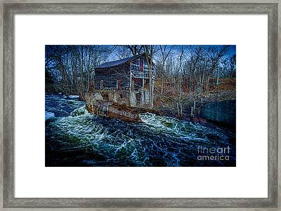 Spring Runoff Framed Print