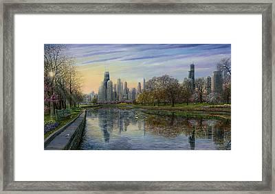 Spring Serenity  Framed Print