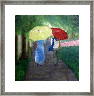 Framed Print featuring the painting Spring Series Iv by Patricia Cleasby