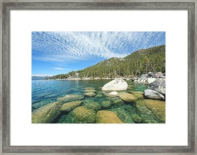 Spring Shores  Framed Print