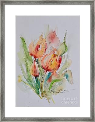 Spring Smiles Framed Print