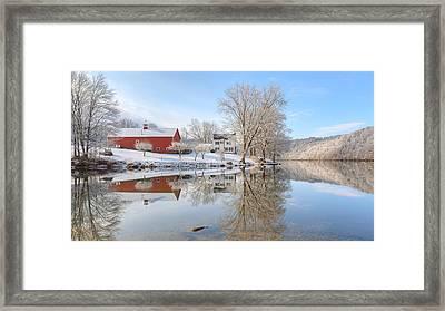 Spring Snow 2016 Framed Print by Bill Wakeley
