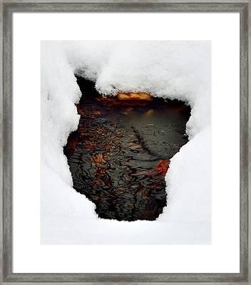 Spring Snow II Framed Print