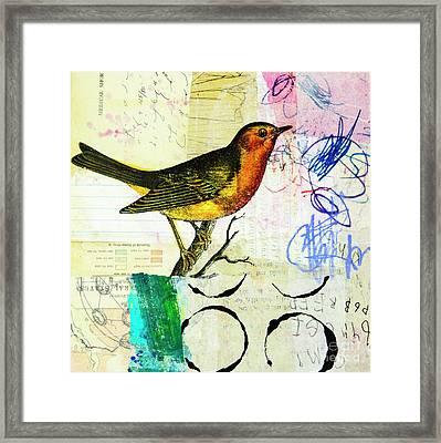 Spring Song Framed Print